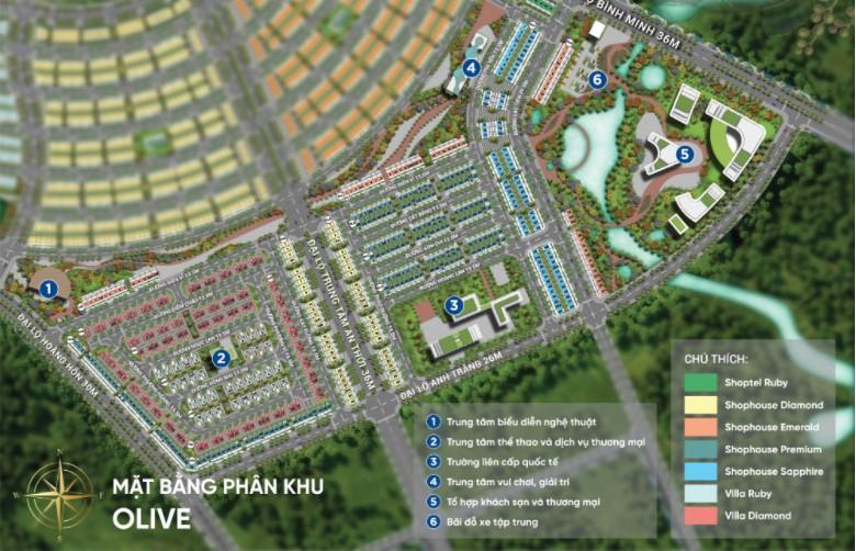 Thông tin phân khu Olive Meyhomes Capital Phú Quốc